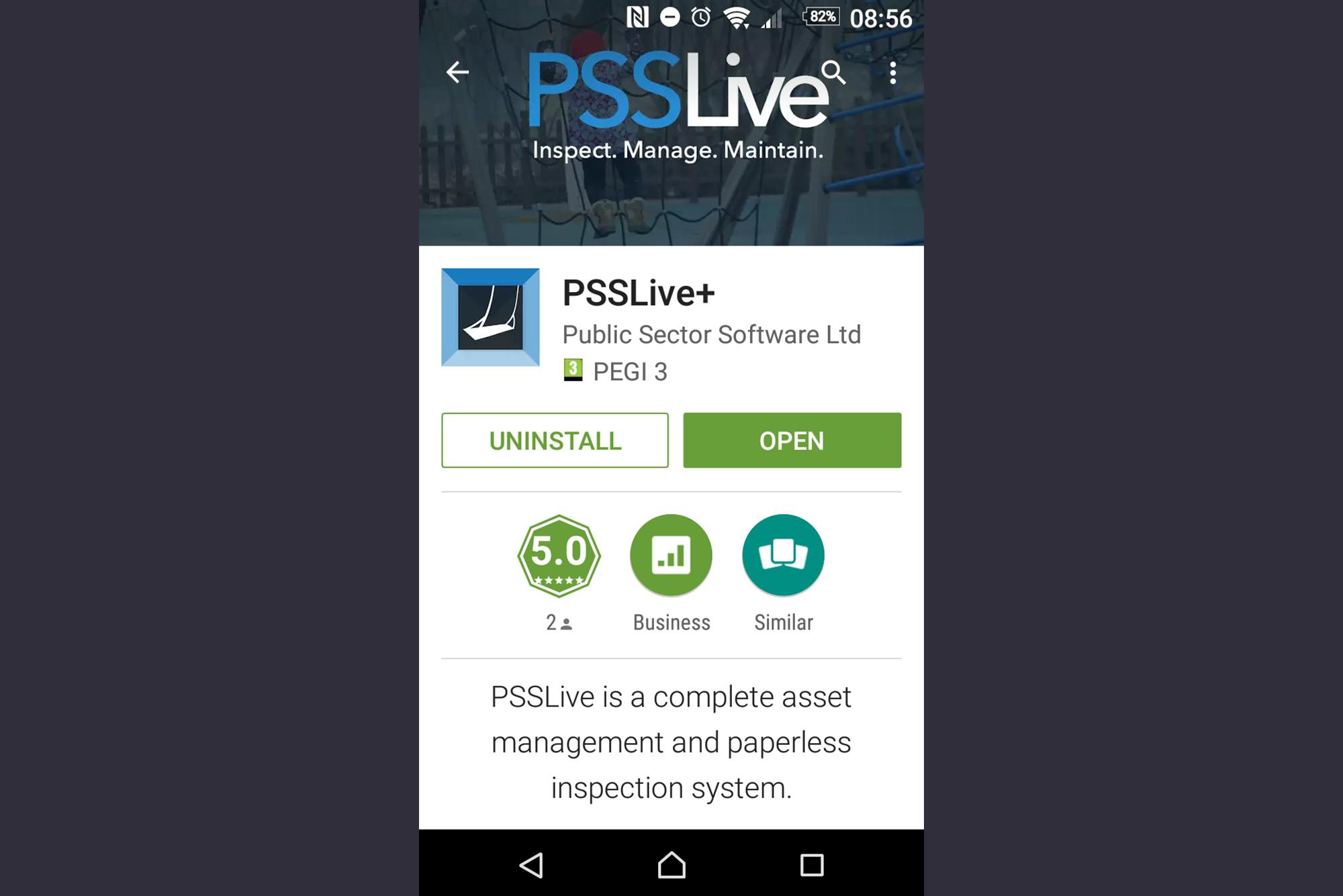 Public Sector Software PSSLive