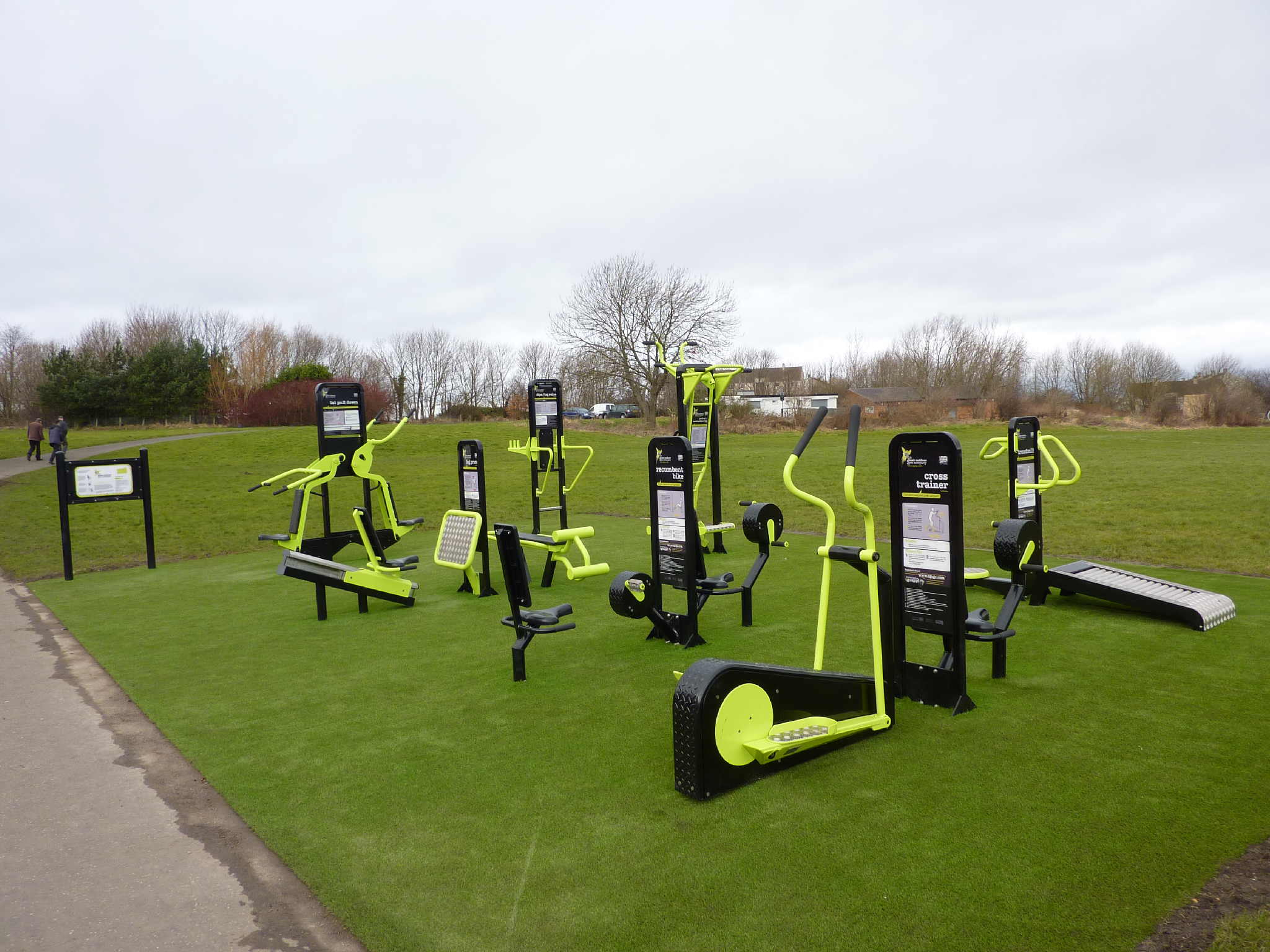 Public Sector Software Outdoor Gym Equipment
